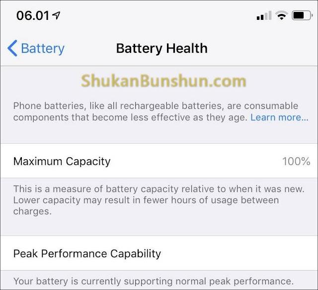 Mengatasi Battery Health iPhone Cepat Berkurang Menurun iOS