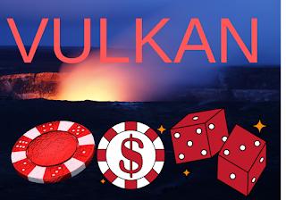 Картинка извержения с посылом играть в Вулкан онлайн