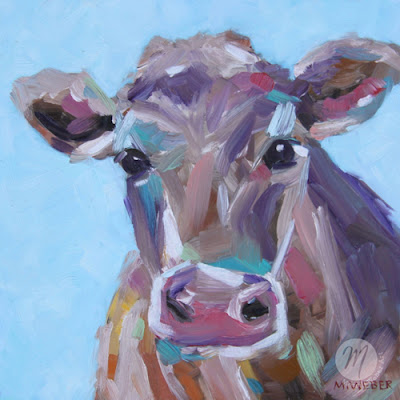 opal-cow-painting-merrill-weber