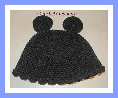 Amys Crochet Creative Creations Crochet Mouse Ears Hat
