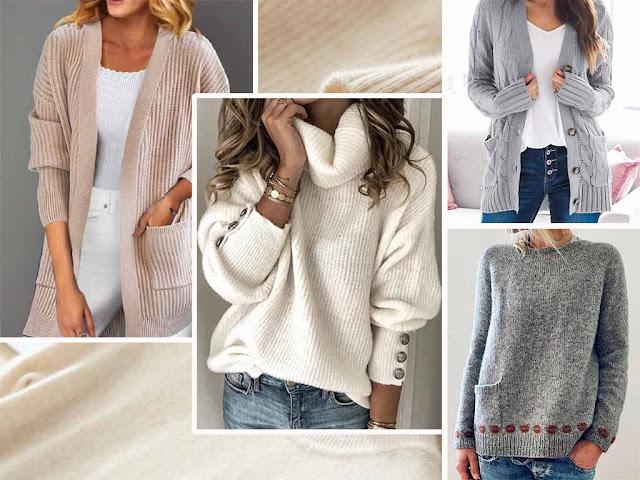 Ninacloak casual sweaters womens