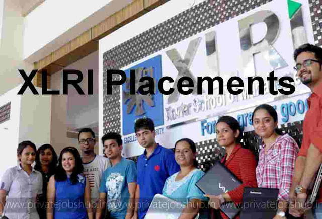 XLRI Placements 2017 Jamshedpur Companies, Packages for MBA, GMP, HRM