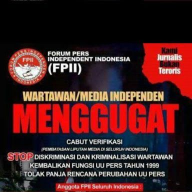 Terkait Surat Edaran, FPII: Dewan Pers Gagal Bina Wartawan