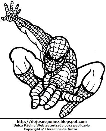 Dibujos De Hombre Araña Para Colorear E Imprimir