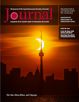 cover of the August '21 JRASC