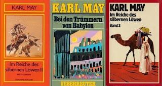 Babilon romjainál könyv kétféle német kiadása