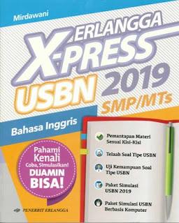 Erlangga X-Press Usbn Smp B. Ingggris 2019