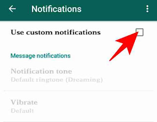 Whatsapp me custom ringtone use kaise kare 4