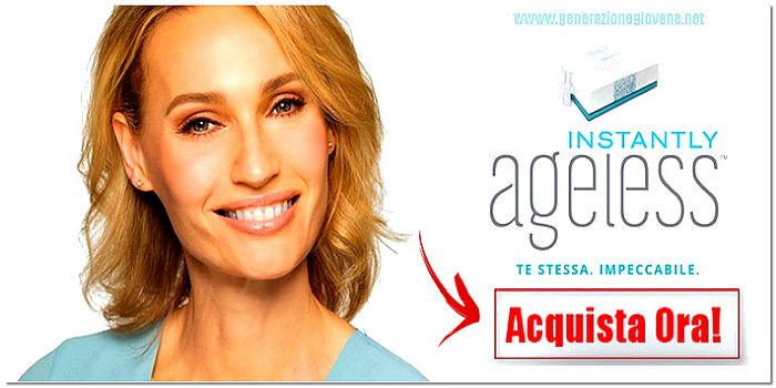 Instantly Ageless Ingredienti