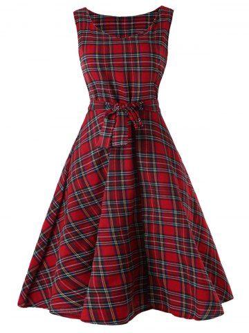 https://www.dresslily.com/sleeveless-tartan-skater-dress-product5028838.html
