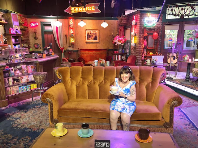 Canapé du Central Perk Friends Studios Warner Bros Los Angeles