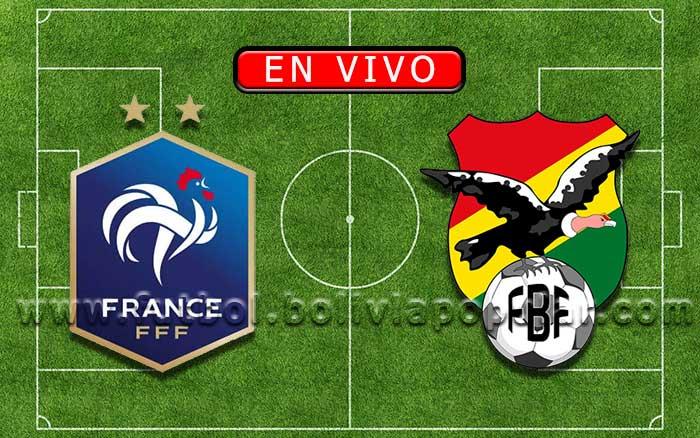 【En Vivo】Francia vs. Bolivia - Amistoso Internacional