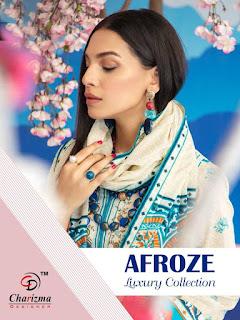 Charizma Afroze Luxury Collection Pakistani Suits