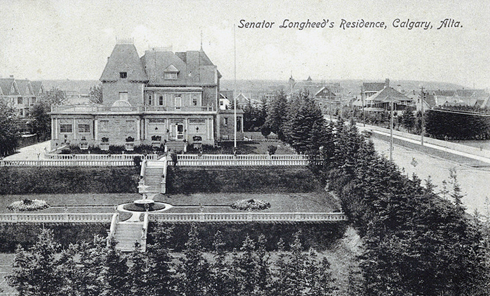 lougheed house calgary alberta archival images