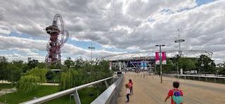 Queen Elizabeth Olympic Park, Zona Olímpica de Londres.
