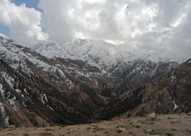 Поход к перевалу Чильдухтарон, верховья ущелья Оджук, Варзоб, горы Таджикистана - фото-обзор похода