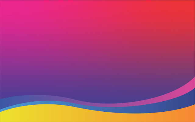 ungu kuning biru background