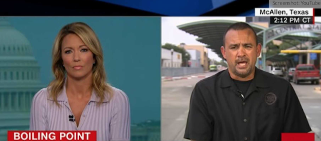 Border Patrol Agent Sets The Record Straight with Brooke Baldwin On CNN, Embarrasses Host