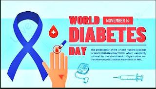 spanduk hari diabetes sedunia psd