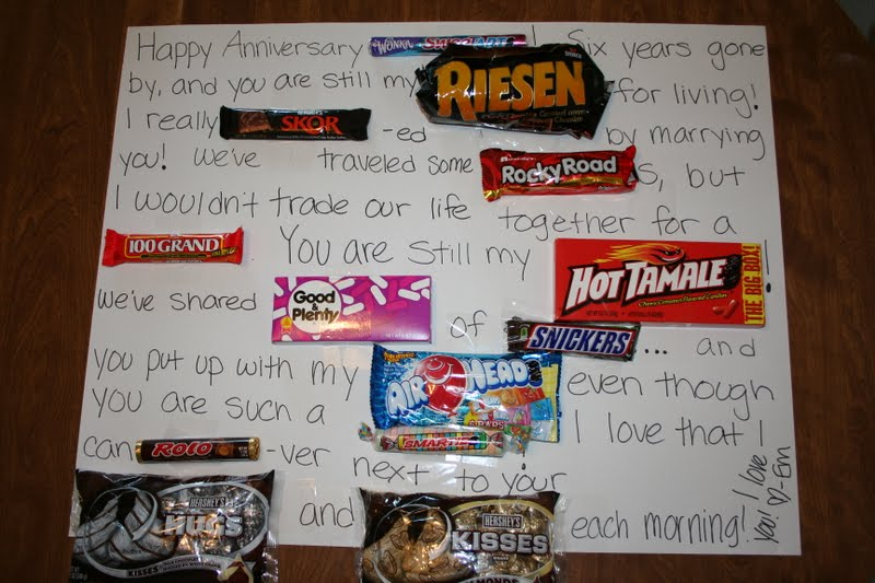 6th Wedding Anniversary Sugar Gifts: The Grimmett's: 6th Anniversary Getaway
