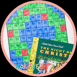 the night before christmas - kindergarten book activity