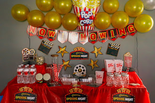 movie night decor ideas