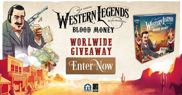 Western Legends: Blood Money Giveaway