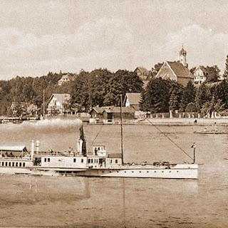 Historische Ansicht Schondorf am Ammersee