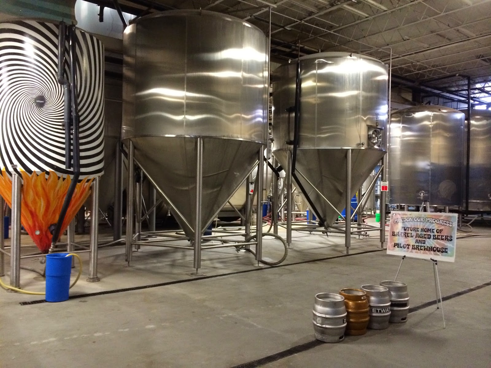 Sweet Water Brewery Tour 61