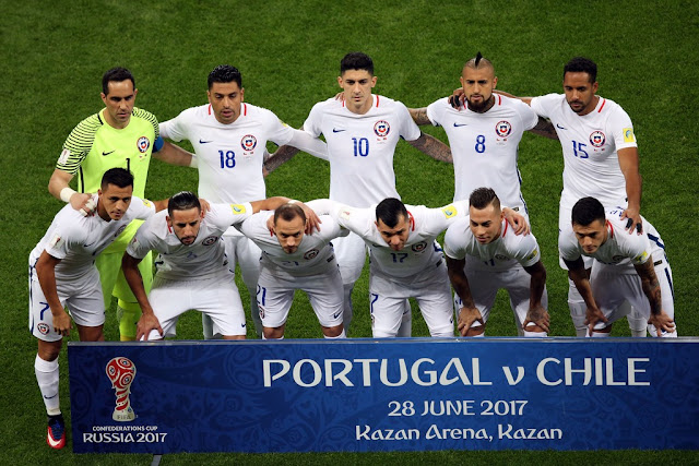 Formación de Chile ante Portugal, Copa Confederaciones 2017, 28 de junio