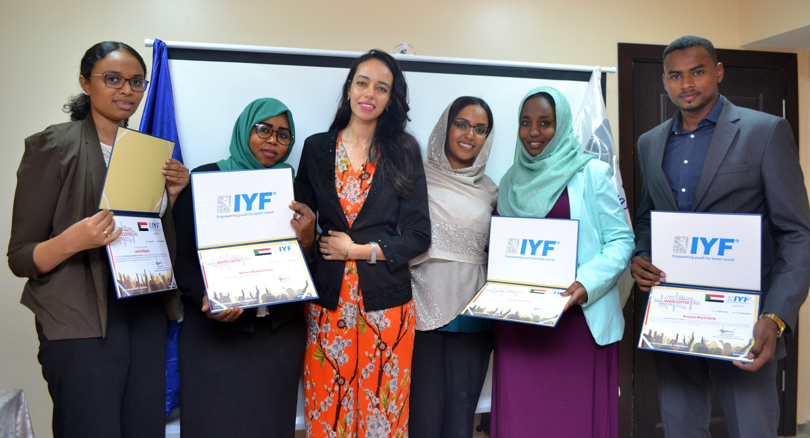 IYF Country Team in Sudan