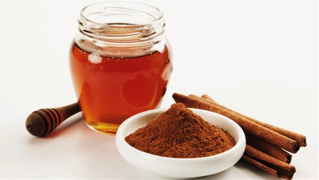 cinnamon, honey