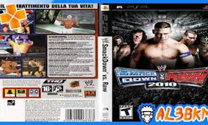 تحميل لعبة WWE SmackDown vs. Raw 2010 psp iso مضغوطة لمحاكي ppsspp