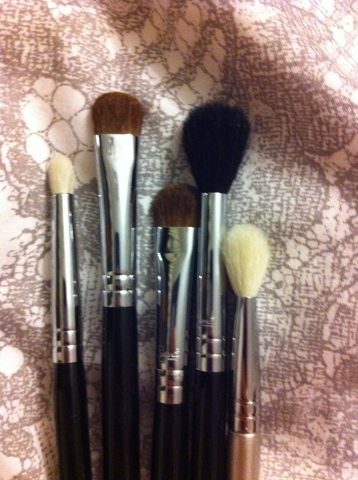 Posietinted: Sigma brushes compared to MAC