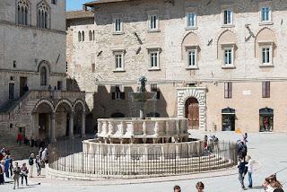 The Fontana Maggiore in Perugia's Piazza IV Novembre