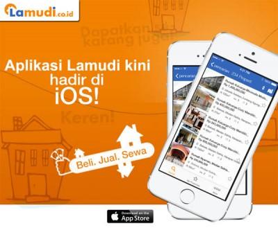 Selain di Android, Aplikasi 'Lamudi' Tersedia Juga untuk iOS