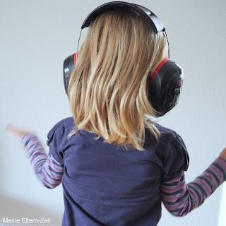Kleinkind Kopfhörer