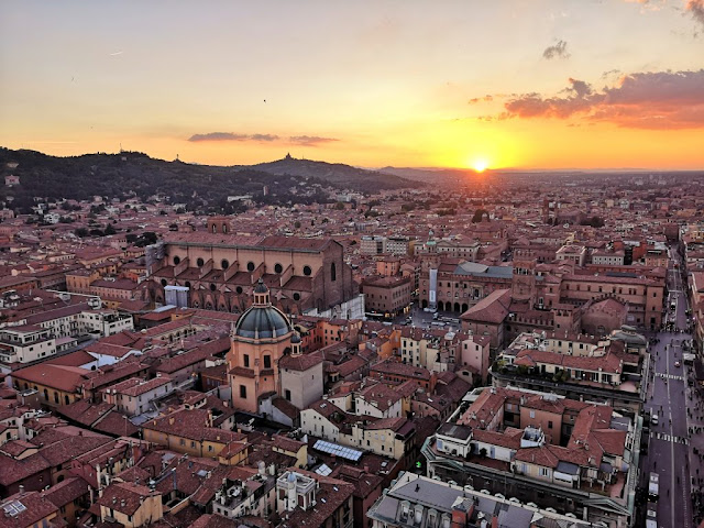 Beautiful April sunset in Bologna. Join us at IEEE-ICTE Sept 20-23 in Bologna, Italy