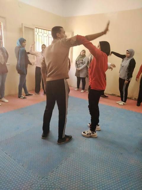 مبادرة لا للتحرش بمركز شباب طما