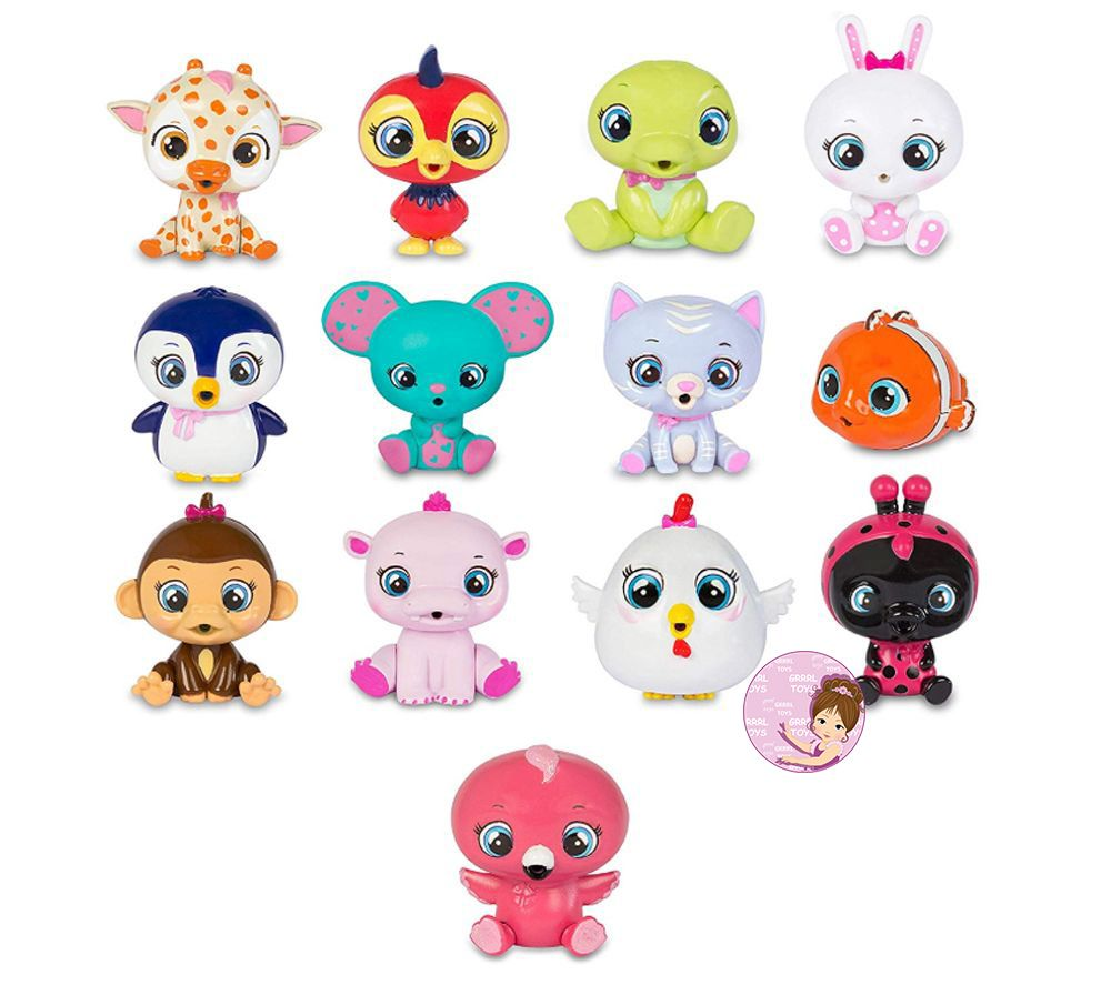 Checklist for Cry Babies Magic Tears Pets toy collection 2020 in pet house
