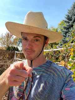Farmer Pointing Finger