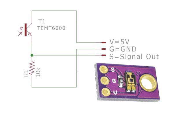 Sensor Cahaya tipe Photo Transistor