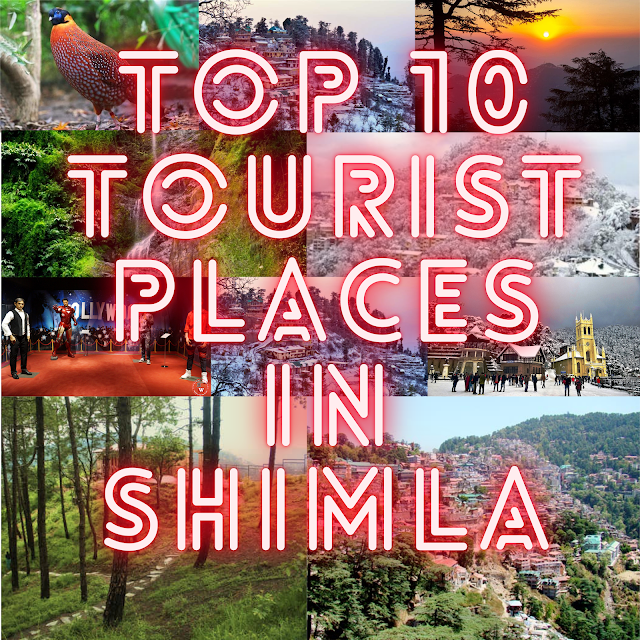 Top 10 tourist places in Shimla