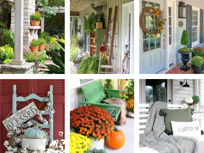 6 Welcoming Fall Porch Ideas
