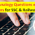 1000 Analogy Questions with Answers for SSC & Railway Exams