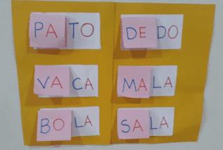 Atividade lúdica alfabetização e letramento