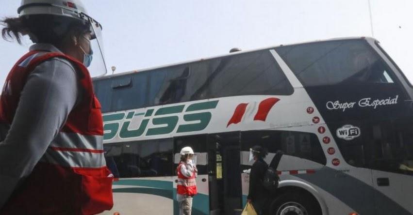 CUARENTENA: Hasta hoy está permitido el transporte interprovincial en regiones de riesgo extremo