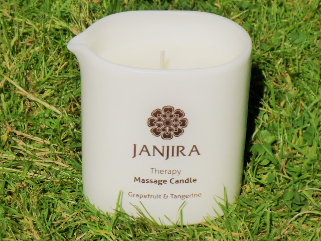 JANJIRA Grapefruit & Tangerine Therapy Massage Candle Review