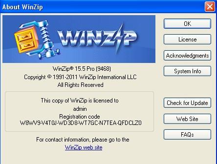 register code for winzip