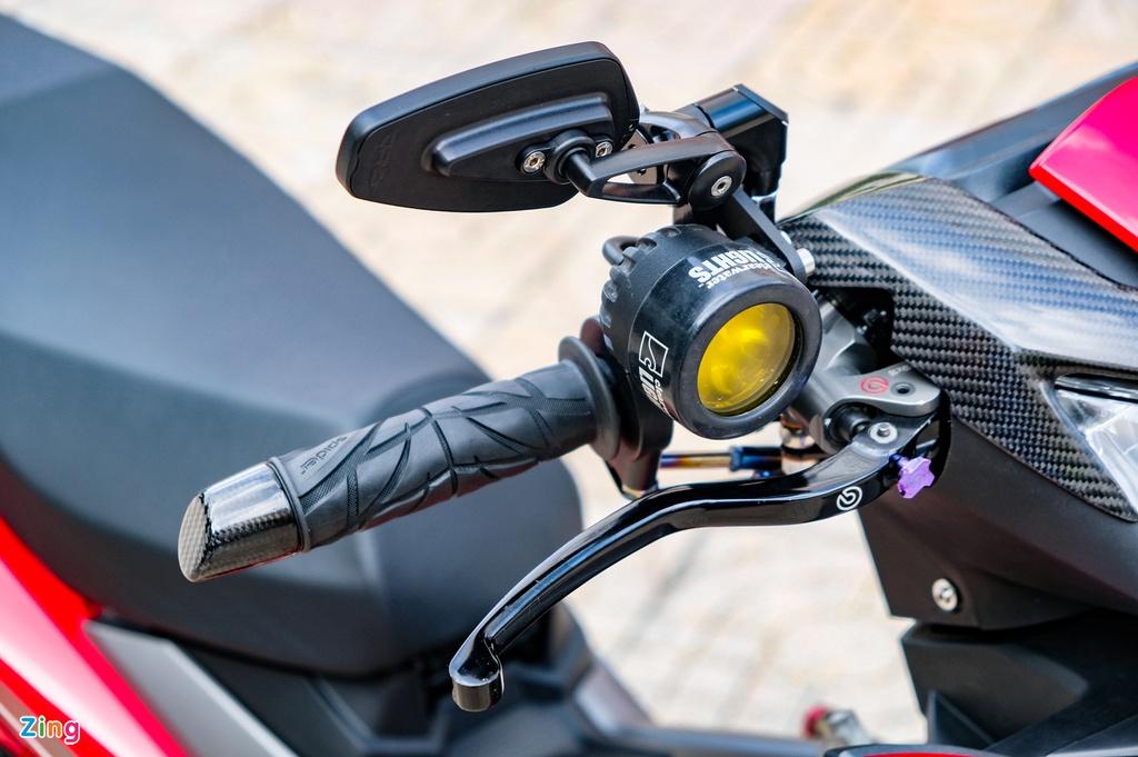 Yamaha Exciter độ lên 200 cc với phong cách touring tại Bình Dương